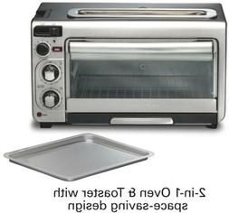Hamilton Beach 31156 Countertop Toaster Oven Stainless Steel
