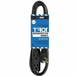 10 Ft Extension Cord with 3 Electrical Power Outlet - 16/3 D