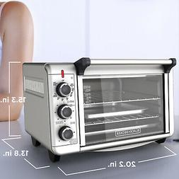 1500W Kitchen Convection 2-Shelf Toaster Oven 6-Slice 12 Piz