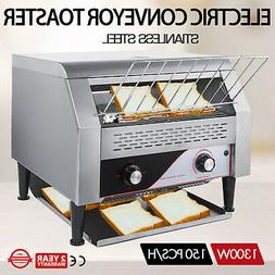 150PCS/H Electric Commercial Conveyor Toaster Tray Toasting