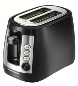 2 Slice Black Coolwall Toaster, with Extra Wide Slots