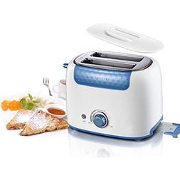 2-Slice Bread Sandwich Toaster Stainless Steel Kitchen Bakin