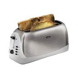 Oster  2 Slice  Brushed  Stainless Steel  Toaster  Stainless