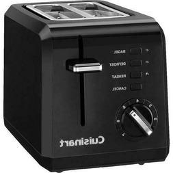 2 Slice Compact Toaster Finish: Black