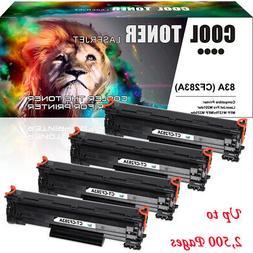 4PK Compatible for HP 83A CF283A Toner LaserJet Pro M127fn M