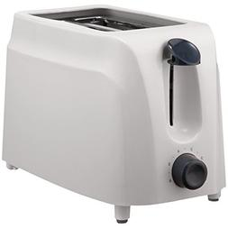 Brentwood  2 Slice Cool Touch Toaster In White