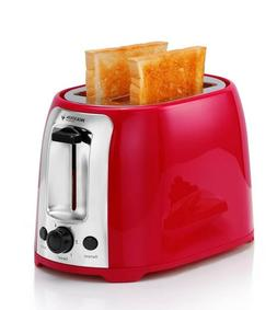 Holstein Housewares 2-Slice Cool Touch Toaster Red