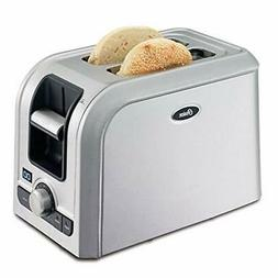 Oster 2-Slice Digital Countdown Toaster, Brushed Stainless S
