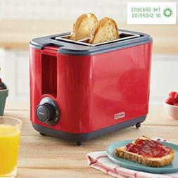 2 Slice Extra Wide Slot Easy Toaster with Cool Touch + Defro