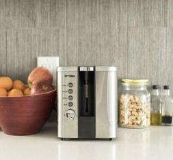 2-Slice Extra Wide Slot Toaster for Bagel Breakfast with Bru