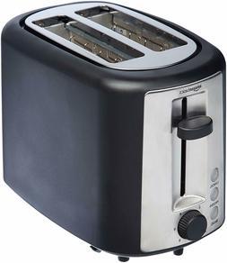 2 slice extra wide slot toaster black