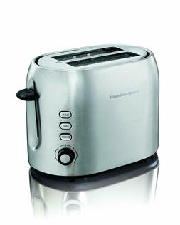 Hamilton Beach 2 Slice Metal Toaster  - New