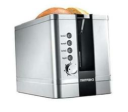 2-Slice Pop-Up Stainless Steel Toaster w/ 7 Shade Settings,