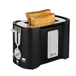 IUME 2-Slice Stainless Steel LOGO Toaster Toast Maker Best R