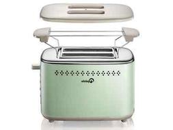 2-Slice Stainless Steel Toasters with 2 Extra Wide Slots 6 B