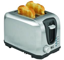 Kalorik 2 Slice Toaster, Stainless Steel, 1 ea