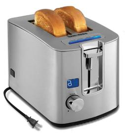 BLACK+DECKER 2-Slice Toaster with Digital Display TR1280S