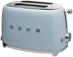 Smeg 2-Slice Toaster-Pastel Blue