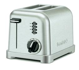 Cuisinart 2-Slice Toaster CPT-160 Metal Classic Stainless St