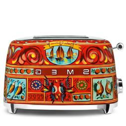 "Smeg 2 Slice Toaster Dolce&Gabbana ""Sicily is my Love"" colle"