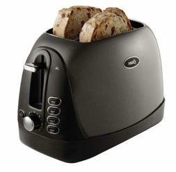Oster 2-Slice Toaster, Metallic Grey