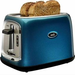 Oster 2 Slice Toaster Oven Metallic Turquoise Color Best Coo