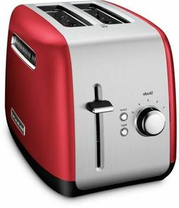 Kitchenaid 2-Slice Toaster Red Bagel Bread Waffles Muffins H