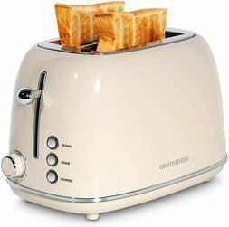 Redmond 2 Slice Toaster Retro Stainless Steel Toaster ST028