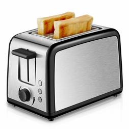 2 Slice Toaster Stainless Steel Croissant Toasters Silver Wa