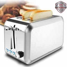 2 Slice Toaster Stainless Steel Toaster Best Rated Prime Toa