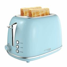 2 Slice Toaster with Bagel, Cancel, Defrost Function, Smeg T