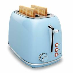 2 Slice Toaster with Bagel, Cancel, Defrost Function and 6 B