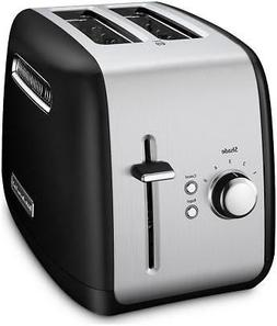 2 slice toaster with manual lift lever