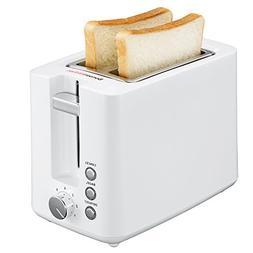 Bonsenkitchen 2-Slice Wide-Slot Toaster, Defrost, Bagel and