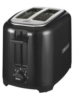 Proctor Silex 2-Slice Wide Slot Cool Touch Toaster Black