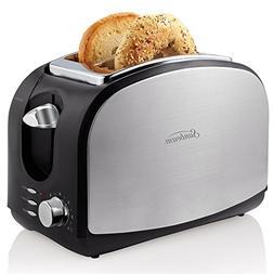 Sunbeam 2-Slice Toaster, Black & Stainless Steel TSSBTRSB03