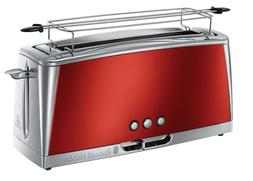 Russell Hobbs 23250-56 Steel Toaster Stainless Slot Long Bro