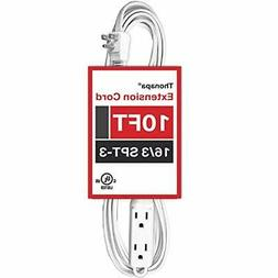 25 Ft Extension Cord with 3 Electrical Power Outlets - 16/3