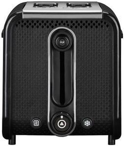 Dualit 26430 Studio 2-Slice Toaster, Black/Polished
