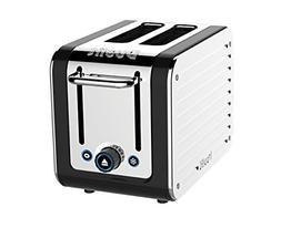 Dualit 26555 2-Slice Design Series Toaster, Black and Steel