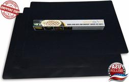 FitFabHome 3 Pack Large Non-Stick Oven Liners Certified BPA