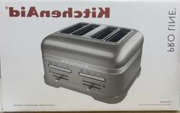 KitchenAid 4-slice Pro Line Toaster, Sugared Pearl Silver
