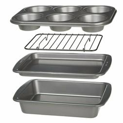 4 Piece Toaster Bakeware Kitchen Dining Oven Great Quality G