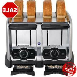 4 Slice 1,650 Watt Commercial Restaurant NSF Electric Toaste