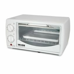 BETTER CHEF 4 SLICE 9 LITER TOASTER OVEN BROILER BAKE TOAST