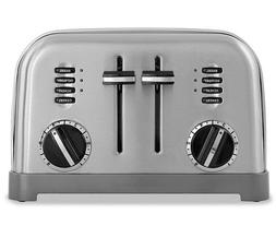 Cuisinart 4-Slice Brushed Stainless Metal Classic Toaster