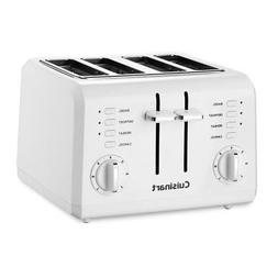 Cuisinart 4-Slice Compact Plastic Toaster - Toast, Bagel, Re