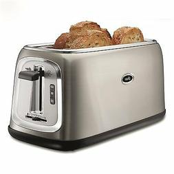 Oster® 4-Slice Long-Slot Toaster - Stainless Steel