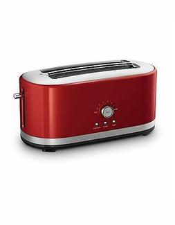 4 slice long slot toaster with high