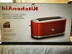 KitchenAid 4-Slice Long Slot Toaster with High Lift Lever in